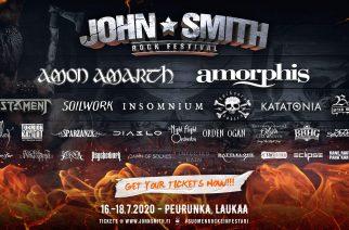 Rockia ja metallia moneen makuun – kuvitteellinen festariraportti John Smith Rock Festivalista vuodelta 2020