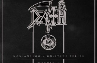Relapse Records julkaisee Deathin ennen julkaisemattomia livetaltiointeja