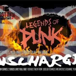 """""""Tymäkkää toimitusta ja tarinointia Englannin pikkuklubeilla"""" – Arviossa """"Legends of Punk -series Vol. 1 – Discharge"""" -live-Blu-ray/DVD"""