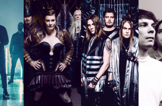 Kuvassa: Merta, Nightwish, Blind Channel ja The Tholy