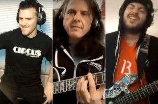 Charlie Benante, Alex Skolnick ja Roberto Diaz