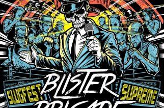"""Rosoista ja potkivaa hard rockia länsinaapurista – arviossa Blister Brigaden """"Slugfest Supreme"""""""
