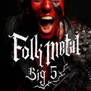 Markus Laakso Folk Metal Big 5 -  Suomalaiset folk metal -jättiläiset. Like 2020. 345s.