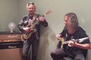Aikaloikka vuoteen 2015: katso video, jolla Kirk Hammett, Charlie Benante ja John 5 jammailevat yhdessä Black Sabbathia