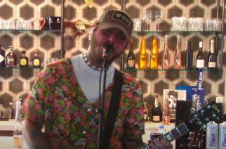 Post Malone esitti Nirvanan klassikoita livestriimissään yhdessä Blink-182-rumpalin kanssa: video katsottavissa kokonaisuudessaan