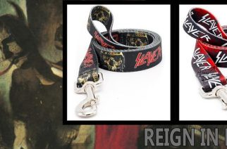 Nyt voit pukea koirasi tyylillä! Caninus Collarsin uudessa mallistossa mm. Motörhead- ja Slayer-kaulapannat