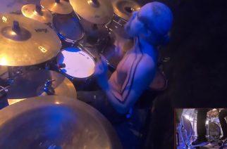 """Kotimaista rumpaliosaamista: katso rumpuvideo Ukri Suvilehdosta soittamassa """"Bridge of Spasms"""" -kappaletta Abbathin kanssa"""