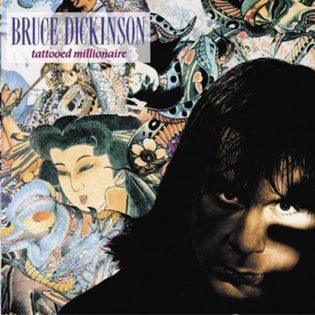 """Tyylitellysti, asenteella ja kieli poskessa kohti soolouraa – klassikkoarviossa Bruce Dickinsonin 30 vuotta täyttävä """"Tattooed Millionaire"""""""