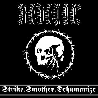 """Musta, mustempi, kanadalainen Revenge – arvostelussa yhtyeen kuudes pitkäsoitto """"Strike.Smother.Dehumanize"""""""