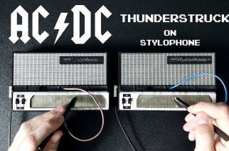 """Varsin mielikuvituksekas versio AC/DC:n klassikosta kuunneltavissa: tältä """"Thunderstruck"""" kuulostaa stylofonilla soitettuna"""