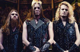 """Alkuperäisen Five Finger Death Punch -kitaristi Caleb Binghamin luotsaamalta Athanasialta musiikkivideo """"Obelisk""""-kappaleesta"""
