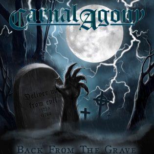 """Carnal Agonyn kakkosalbumi """"Back from the Grave"""" on päämäärättömyydestään huolimatta viihdyttävä metallikiekko"""