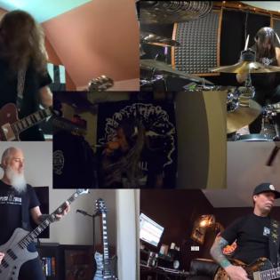 Lamb Of God esitti karanteenissa kolme biisiä: video katsottavissa