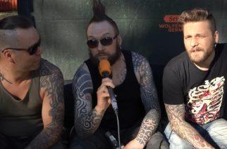 """KaaosTV tapasi Nummirockin virtuaalifestivaalissa perjantain pääesiintyjänä toimineen Ruoskan: """"Kirjoitamme parhaillamme musiikkia tulevaa albumia varten"""""""