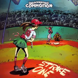 """Blackwater Commotionin """"Strike One"""" on vanhan koulukunnan hevin ja rockin juhlaa"""
