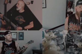 """Tekijämiehet koolla: näin taipuu Metallican """"The Shortest Straw"""" Five Finger Death Punchin Chris Kaelilta kera nimekkäiden ystävien"""