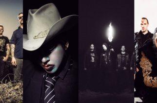 Kuvassa: Mastodon, Marilyn Manson, Sepulchral Curse, Trve Cvlt Clvb