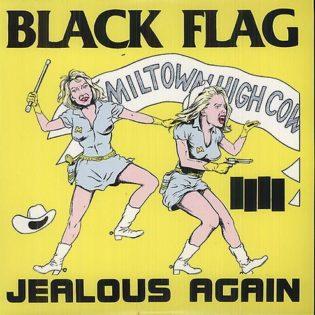 """""""Kolmen vokalistin kitkerä soppa"""" – Klassikkoarvostelussa Black Flagin 40-vuotias """"Jealous Again"""" -EP"""