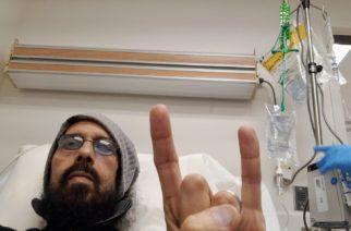 Haimasyöpää vastaan taisteleva Quiet Riot -rumpali Frankie Banali sai sydänkohtauksen