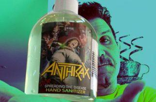 Anthrax taisteluun koronavirusta vastaan: bändi lanseeraa oman käsidesin
