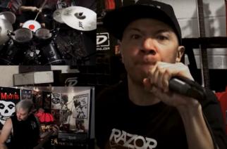 "Danko Jones-, Death Angel- ja Exciter-miehistö tulkitsee Slayerin ""Mandatory Suicidea"" karanteenivideolla"