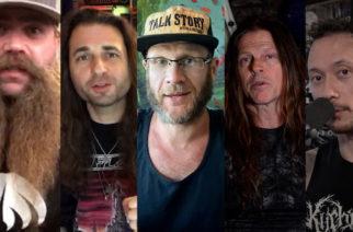 """""""Olemme teille varmaan velkaa osan rojalteistamme"""": muusikot muistelevat In Flamesin """"Clayman"""" -albumin vaikutusta heihin tuoreella videolla"""