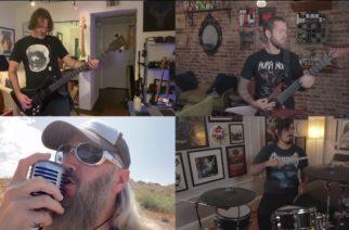 """Tulkinta, joka pesee jopa alkuperäisen: Mastodonin, Revocationin ja Dethklokin jäsenten coverointi Megadethin """"Holy Wars… The Punishment Due"""" -kappaleesta katsottavissa"""