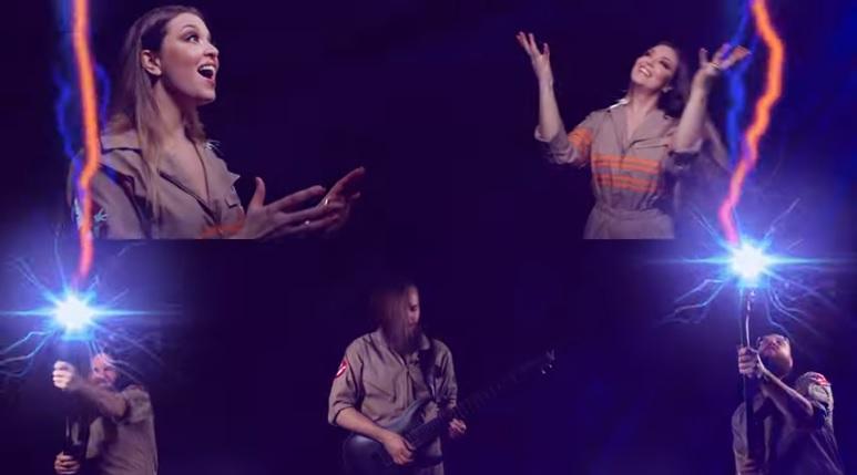 The Agonistin laulaja Vicky Psarakis julkaisi oman tulkintansa Ghostbustersin teemakappaleesta
