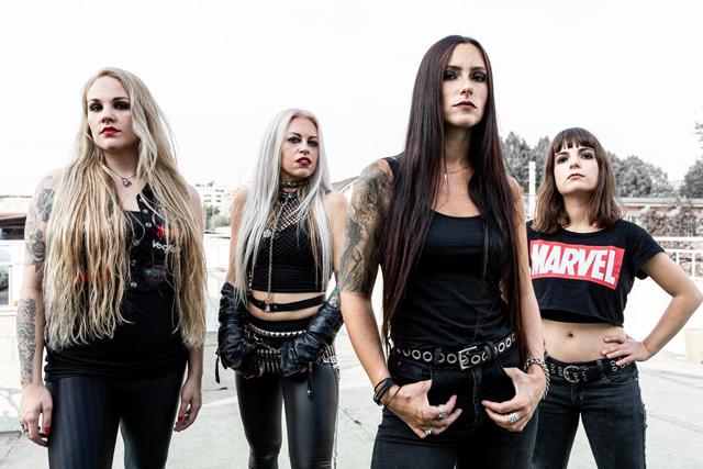 "Thrash metal -yhtye Nervosalta lyriikkavideo ""Genocidal Command"" -kappaleesta"