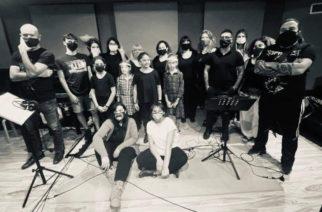 Septicflesh saanut lastenkuoro-osuuden nauhoituksen valmiiksi tulevaa albumiaan varten