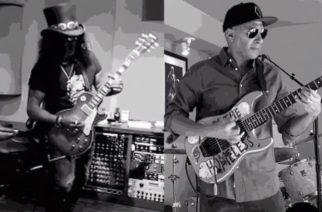 """Rage Against The Machinen Tom Morellon yhteistyö Slashin kanssa katsottavissa """"Interstate 80"""" -kappaleen musiikkivideolla"""