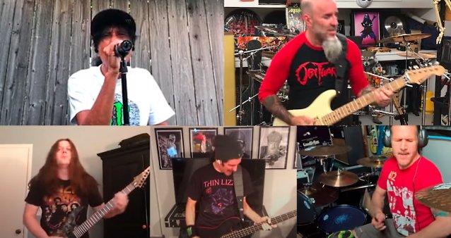 """Anthraxin """"Spreading The Disease"""" -albumi täytti 35 vuotta: karanteenivideo """"Gung-Ho"""" -kappaleesta katsottavissa"""