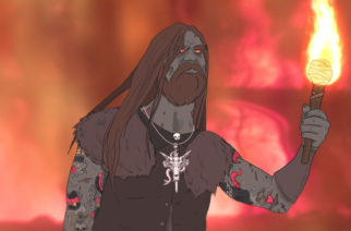 """Entiseltä Kvelertak-nokkamies Erlend Hjelvikilta animoitu musiikkivideo uudesta """"Glory Of Hel"""" -kappaleesta"""