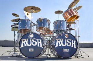 Edesmenneen rumpalilegenda Neil Peartin vuosina 1974-1977 käyttämä rumpusetti aiotaan huutokaupata