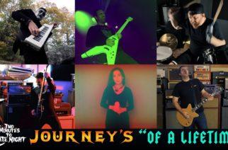 """Convergesta, Cave Inista ja Toxic Holocaustista tutut muusikot versioivat Journeyn """"Of A Lifetimen"""" raskaampana"""