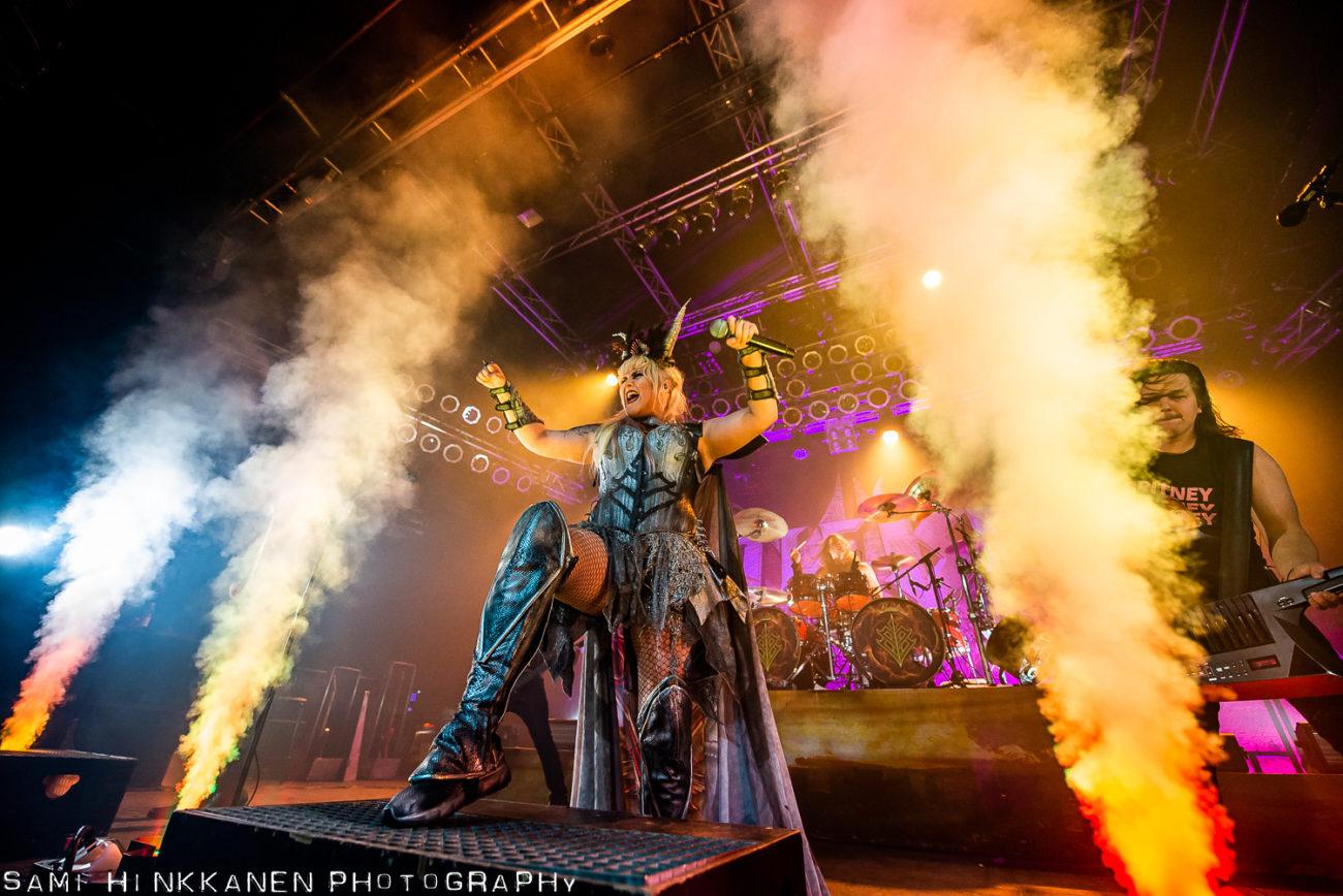 Battle Beastin Logomon-konsertti siirtyy toukokuulle