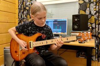 Seinäjokelainen 14-vuotias kitaristilupaus mukana Guitar Worldin vuoden nuori kitaristi -äänestyksen finaalissa