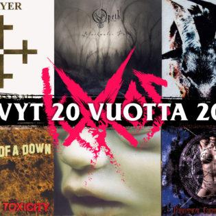 Aikamatka uuden millenniumin alkuun: nämä albumit täyttävät tänä vuonna 20 vuotta