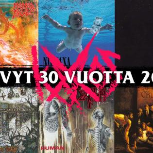 Aikamatka grungen aallonharjalle: nämä albumit täyttävät tänä vuonna 30 vuotta