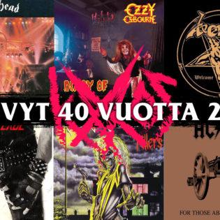 Aikamatka kasarin sydämeen: nämä albumit täyttävät tänä vuonna 40 vuotta