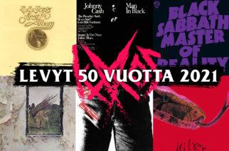 Aikamatka rock-musiikin kultakaudelle: nämä albumit täyttävät tänä vuonna 50 vuotta