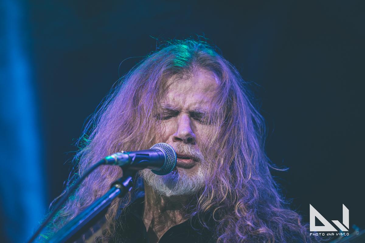 """Dave Mustaine kertoo uuden Megadeth-albumin valmistuvan tuota pikaa: """"Enää yksi biisi laulettavana"""""""
