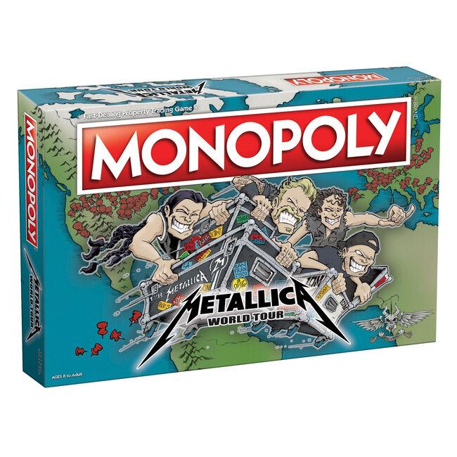 Metallica julkaisi jo uransa toisen Monopoly-pelin