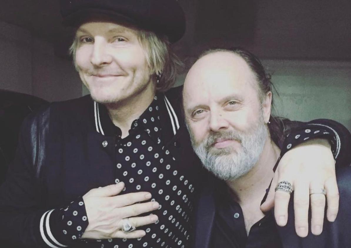 Lars Ulrich auttoi Matt Sorumia liittymään Guns N' Rosesiin