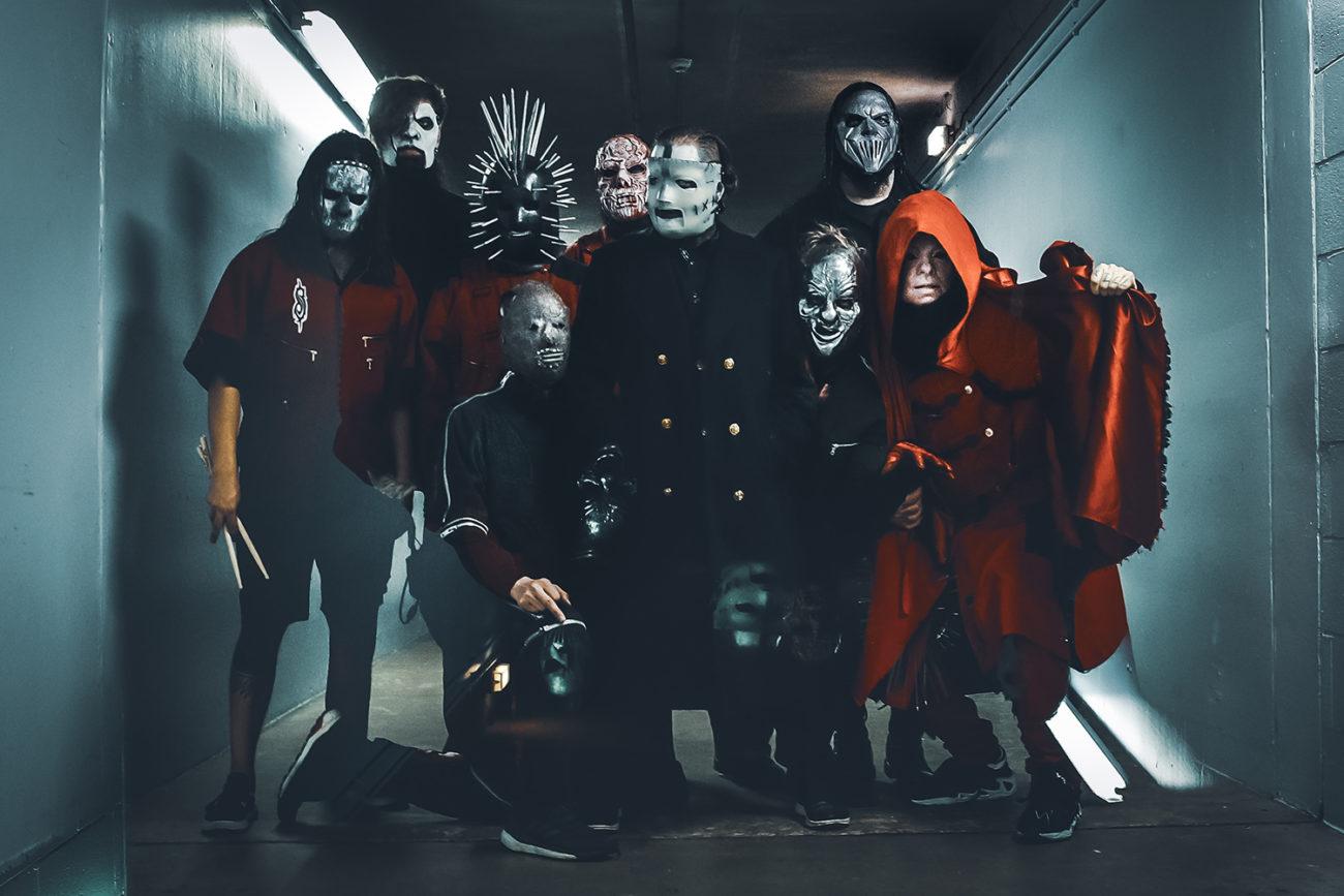 Huhuja liikkeellä: Slipknot studiossa?
