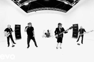 """AC/DC julkaisi videomateriaalia """"Realize""""-videonsa kulissien takaa"""