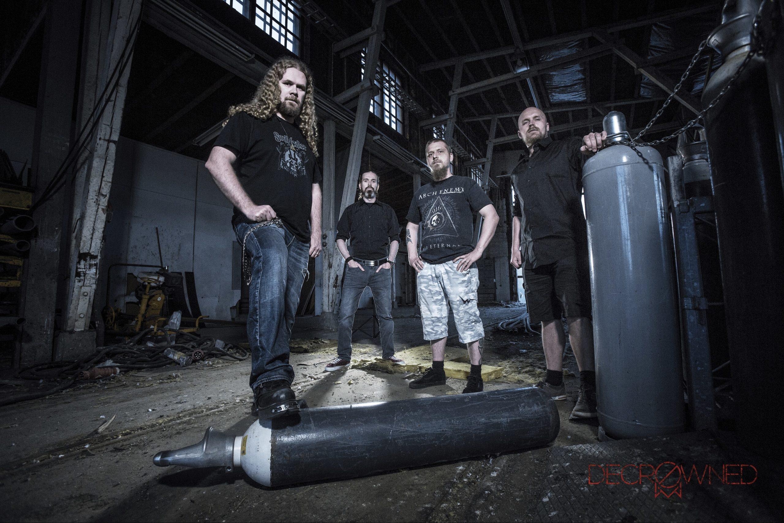 Julkaisuvuosi polkaistiin käyntiin myös Joensuussa, ennakkokuuntelussa Decrowned-yhtyeen `Dreamland`-single...