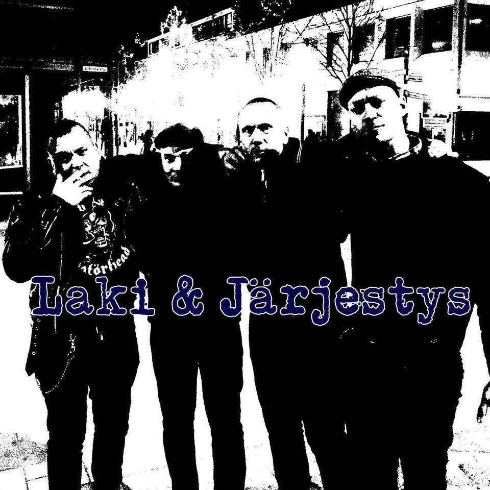 """Laki & Järjestykseltä EP helmikuun lopussa – single """"Idiootit"""" ulkona nyt"""