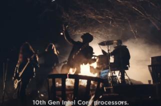 Lenovo värväsi ruotsalaisen metalliyhtyeen esittämään tuoreen kannettavan tietokoneensa arvostelun metallikappaleena