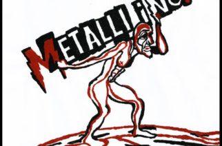 """Metalli Inc. kulkee Timo Rautiainen & Trio Niskalaukaus -yhtyeen jalanjäljissä, mutta uskaltaa myös kokeilla omia ideoitaan – arviossa yhtyeen debyyttialbumi """"Raskas taakka"""""""
